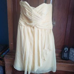 Strapless Bridesmaid or prom dress size 8